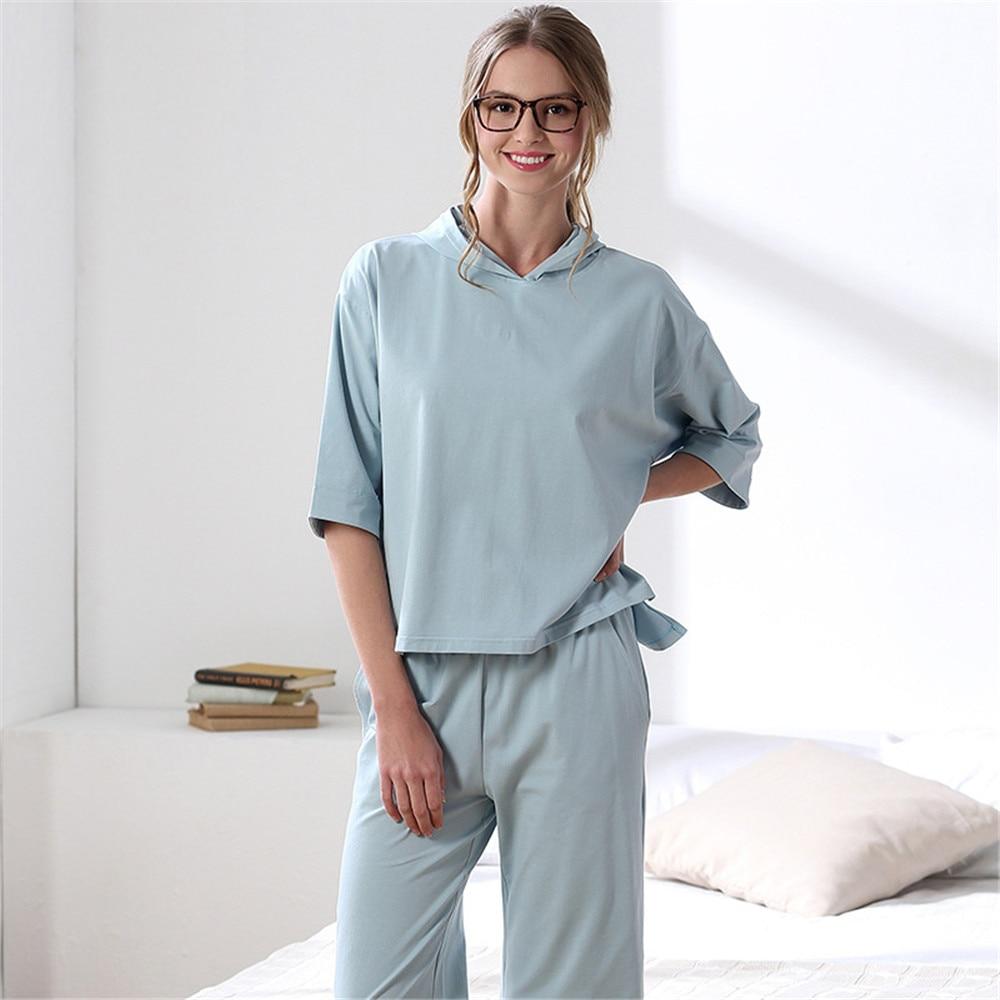 women viscose s pajamas by pj comforter nirvana bamboo eco womens main trending texeresilk sleeve set long comfortable