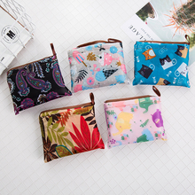 ECO New Lady Foldable Recycle Shopping Bag Eco Reusable Tote Cartoon Floral Fruit Vegetable Grocery