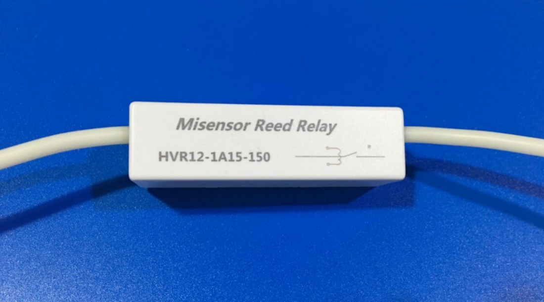 High Voltage Dry Reed Relay Misensor Coil 12V Withstand Voltage 15KV High Voltage Lead HVR12-1A15-150