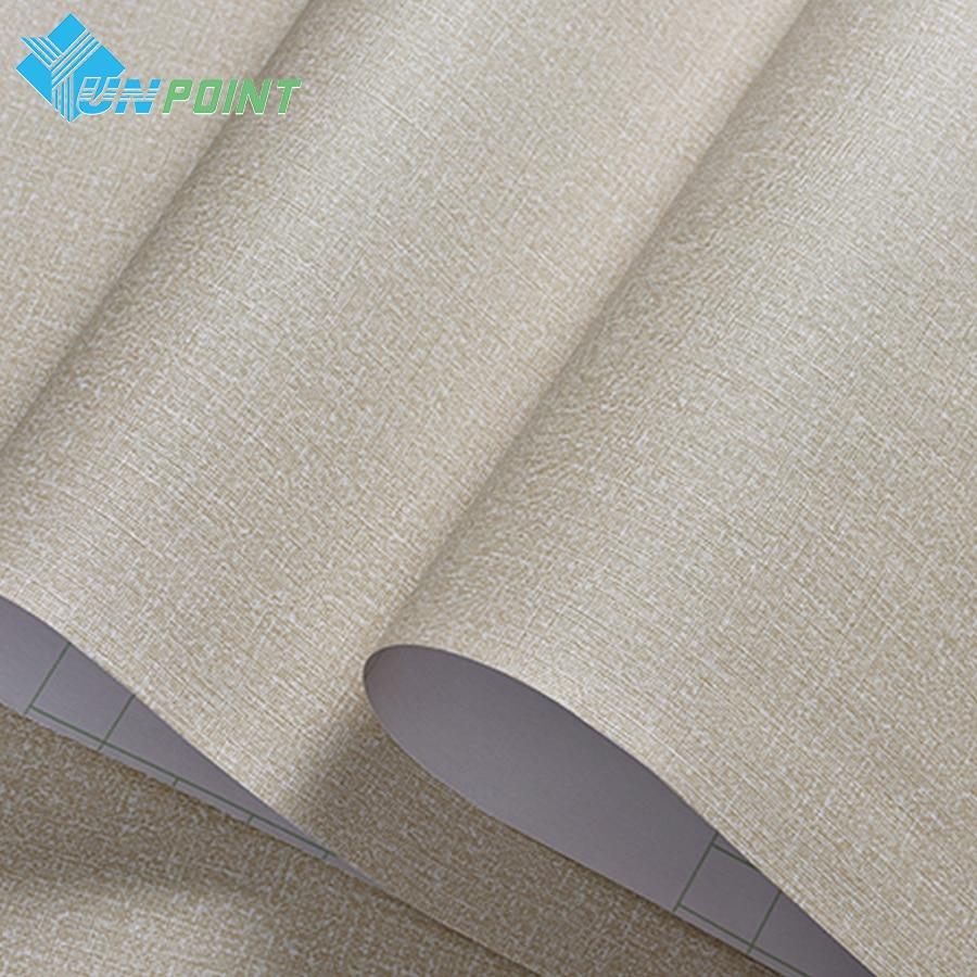 5meter waterproof vinyl linen pattern self adhesive for Self adhesive bathroom wallpaper
