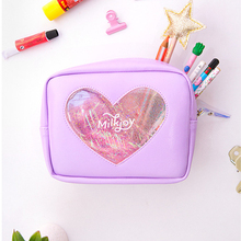 Women Travel Cosmetic Bag High Capacity Lady Makeup Case Cute Toiletry Organizer