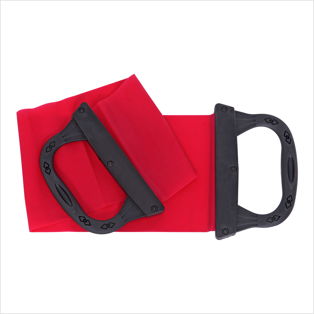 Fitness Bands With Handles: CAP Fitness Pilates Resistance Band With Handles-in
