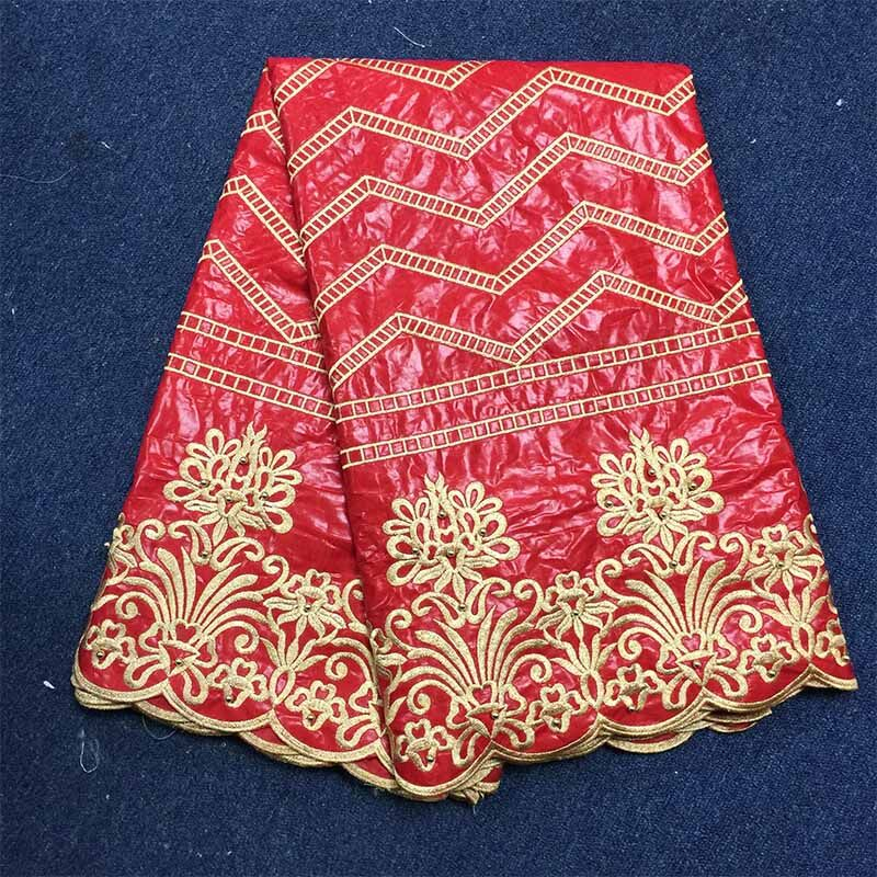 2017 new African bazin riche red lace fabric african bazin riche fabric high quality bazin riche getzner for patchwork sewing