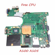 V000068510 V000068770 Laptop Motherboard Für toshiba satellite A100 A105 945GM DDR2 V000069060 V000069110 Main board kostenloser cpu