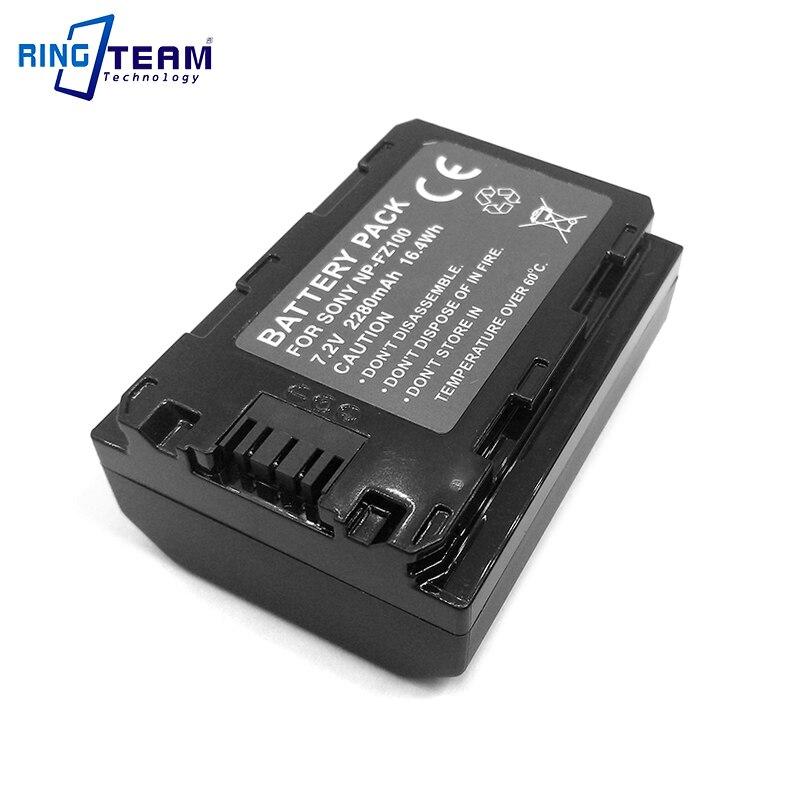 Batería recargable de iones de litio NP-FZ100 NP FZ100 para Sony Alpha 9 A9 ILCE-9 ILCE-7M3 A7RIII A7 III ILCE-7M3 ILCE-7M3K cámaras