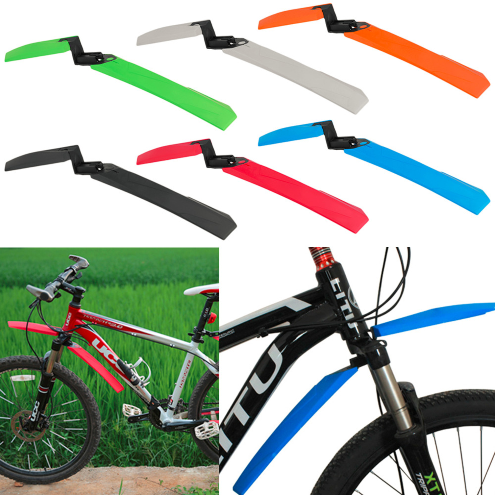 font b Cycling b font Mountain Bicycle Bike Front Back Rear Tire Mud Guards Fenders