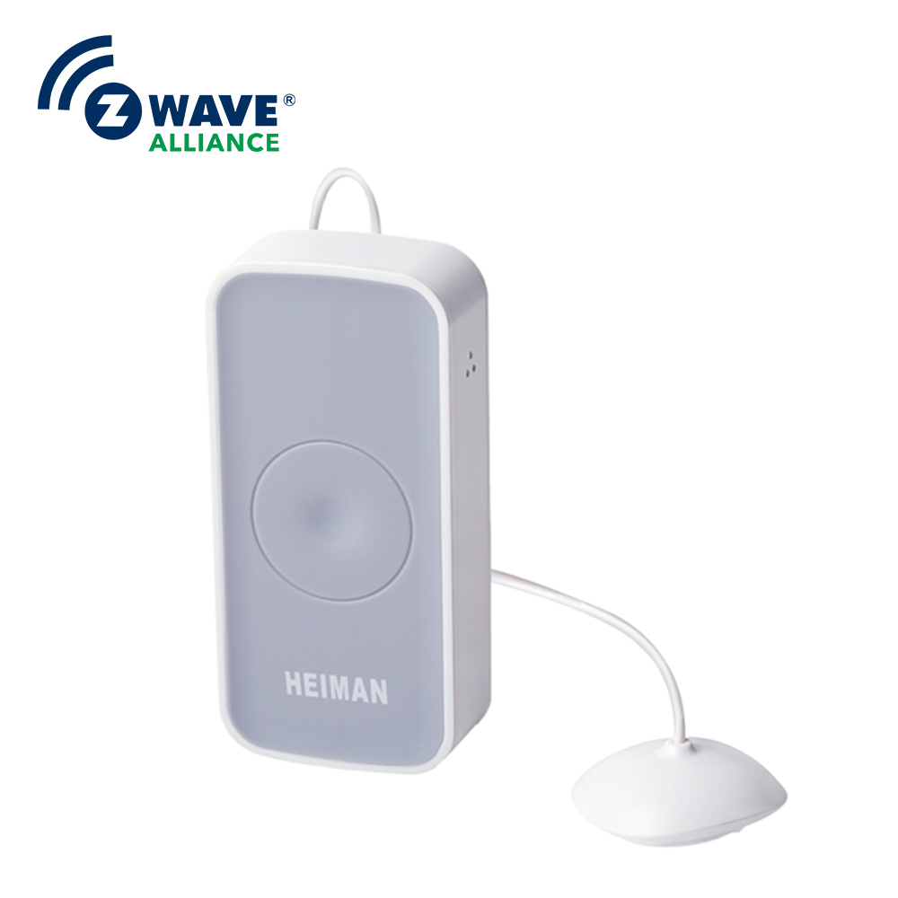 Long Range Water Alarm Detector APP Notification Smart Home Automation Zwave Ground Water Leak Detection System arsenic removal technologies from ground water