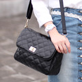 2016 Women's Brief Handbag All-match Plaid Women's Shoulder Small Bags sac Woman Bags 2016 Bag Handbag Fashion Handbags taschen