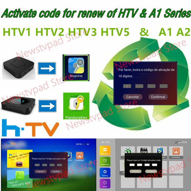 HTV BOX tigre box HTV3 HTV5 H TV3 H TV5 HTV A1 A2 BOX brazil tv yearly fees  Subscription
