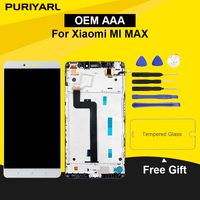 OEM Original AAAA 5.99 LCD Screen For XIAOMI Mi MAX LCD Display With Touch Screen Replacement Digitizer Assembly No Dead Pixel