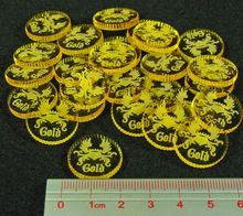 Custom  token coin for game cheap custom made gold acrylic tokens high quality Coin