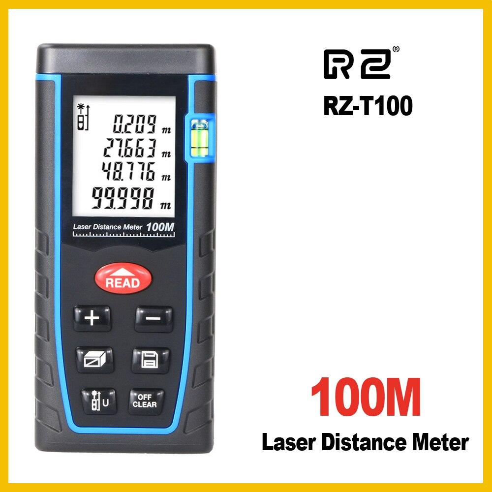 RZ 40 m 60 m 80 m 100 m laser range finder distance ruban à mesurer roulette mètre de mesure la trena télémètre Électronique règle