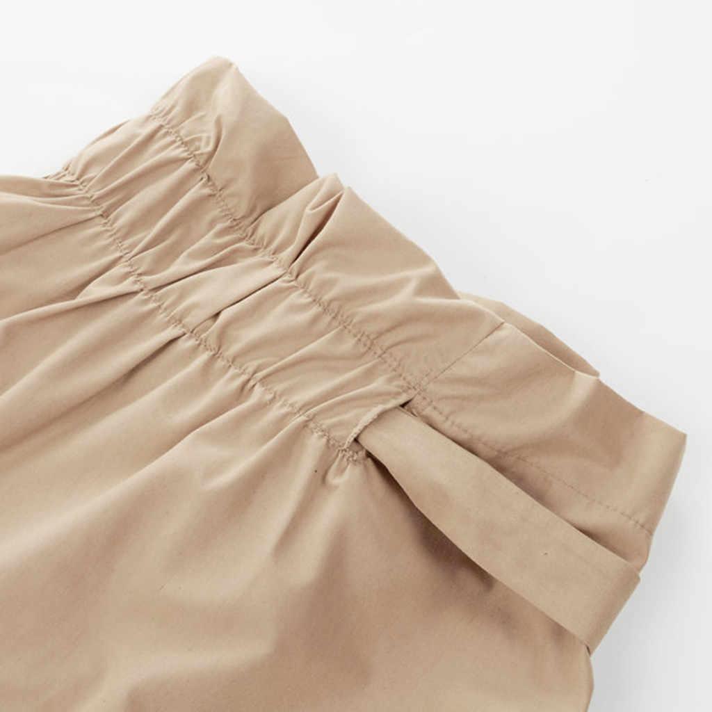 Asimmetrico della cinghia in pelle scamosciata gonne delle donne di cuoio Primavera gonne 2019 Nuovo Sexy streetwear a vita Alta Fasciatura gonne corte femme xin1
