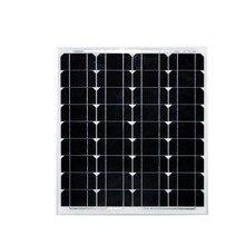 solar panel 300w 12v painel solar fotovoltaico 50w watts 18v 6 pcs/lot poly silicon solar cell placa solar fotovoltaica