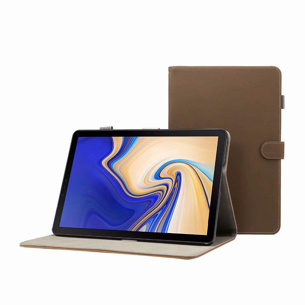 Cover Case For Samsung Galaxy Tab S4 10.5 Inch T830 T835 SM-T830 SM-T835 Tablet Funda PU Leather Stand Shell+Stylus Pen