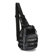 2019 New Canvas Riding Bag Camouflage Field Sports Small Chest Shoulder Diagonal Outdoor Tactical  Pack