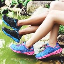 Outdoor lover hiking fishing boots mesh wading shoes sports men women couple climbing camping shoes sports wading shoes