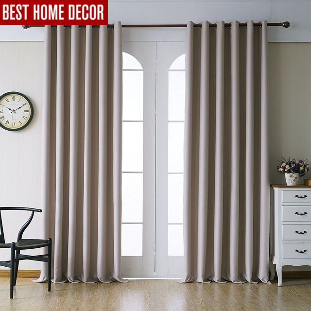 Modern blackout curtains for living room bedroom curtains for ...