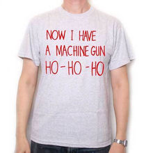 7a8da7ca Cotton Shirts Inspired by Die Hard T Shirt - Now I Have A Machine Gun Ho Ho  Ho Cult Film Tee ! Plus Size Casual Clothing