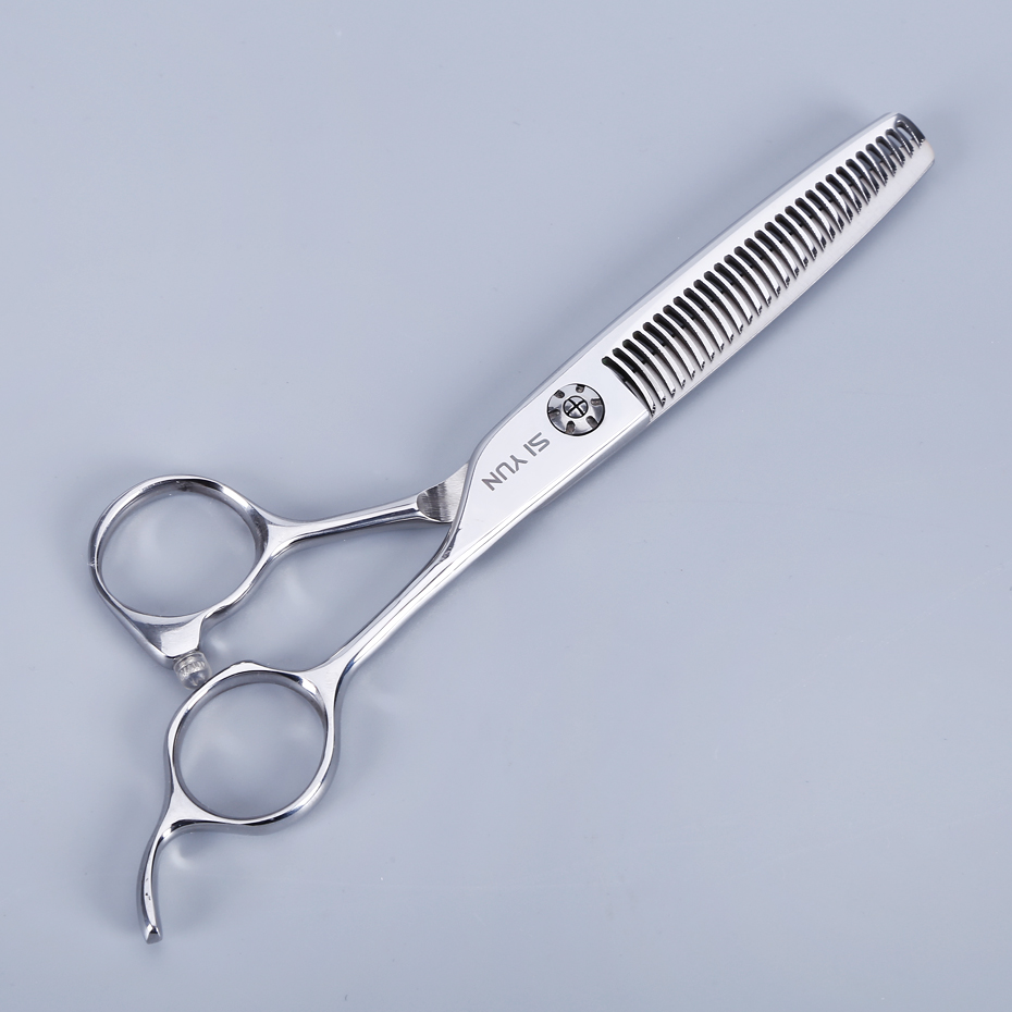SI YUN 6.0inch(17.00cm) AS60 model thinning type of high quality professional barber scissors