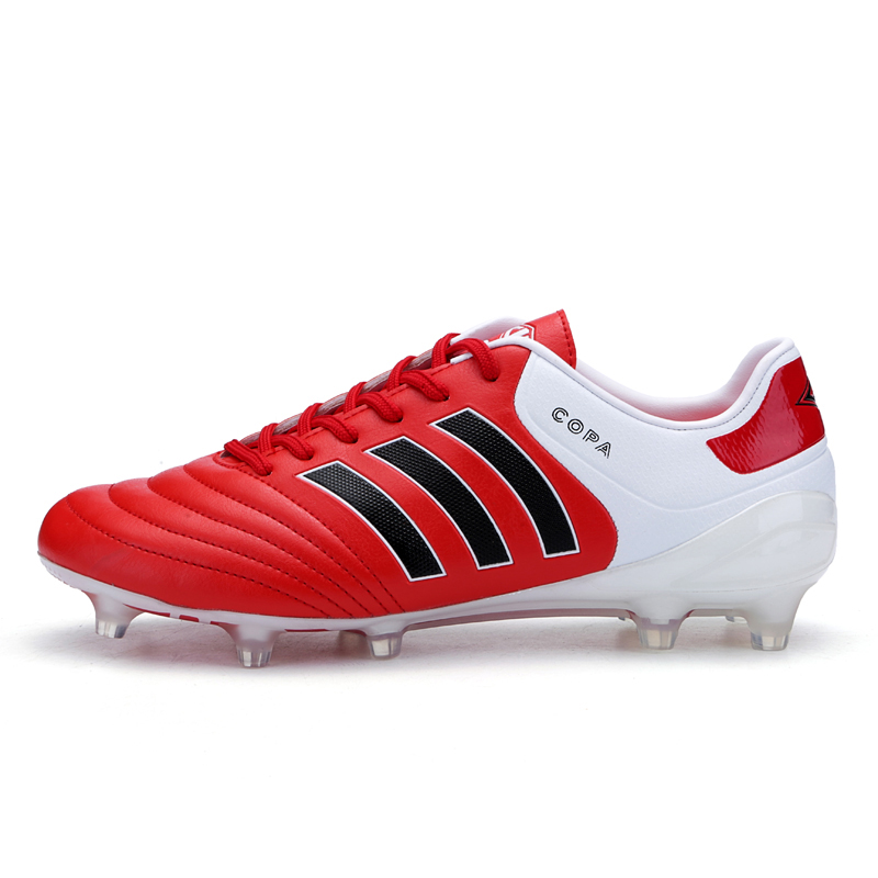 AG Soccer Cleats For Man And Kids professional Adults Football Boots Outdoor Children Athletic Trainers Youth Sports Sneakers tiebao new men outdoor grass soccer shoes cleats for adults children sports football shoes brand football boots male size 35 44