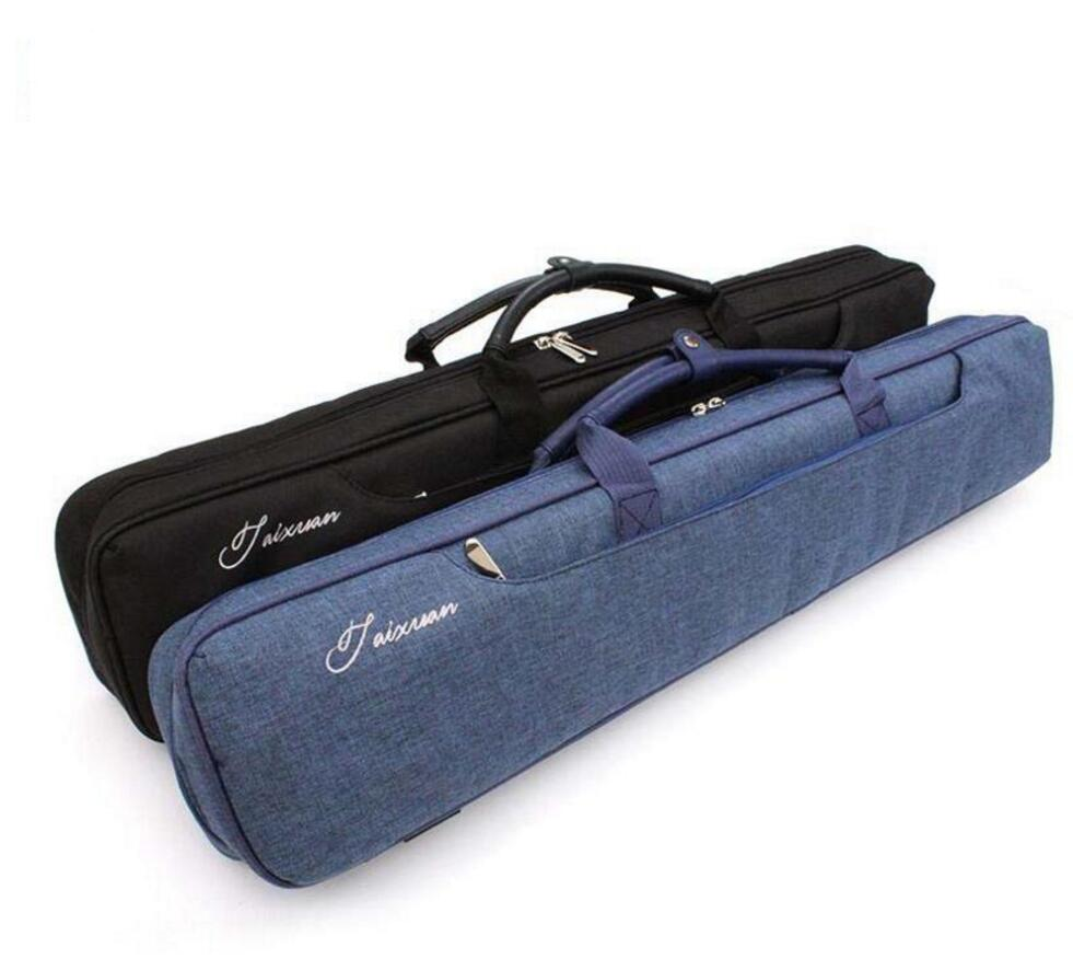 Billiard Case Soft 4 Shafts 3 Butts Canvas Billiard Pool Stick Cues Kit Portable Carrying Case 3x4 Black Blue Colors China 2019
