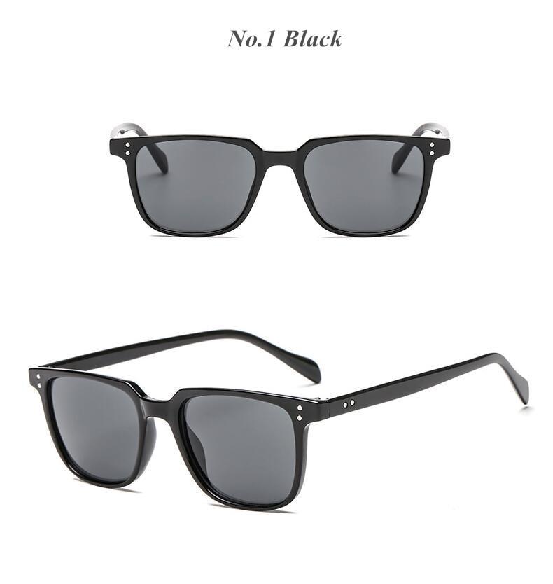 REALSTAR 2018 Mode Rivets Cadre Carré lunettes de Soleil Hommes Femmes  Concepteur de Marque En Plein Air Lunettes Vintage Shades UV400 Oculos S454 3c5fa6539c4d