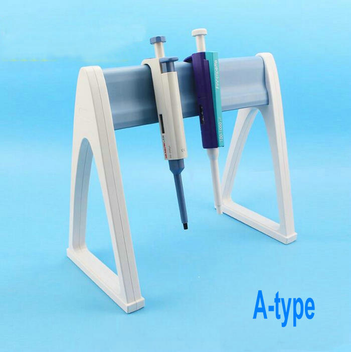 1pcs Plastic A-type, Z-type, Rotating-type Pipette rack HIPS material pipette stander pipetting device bracket in common use подставка для синтезатора tesler z type