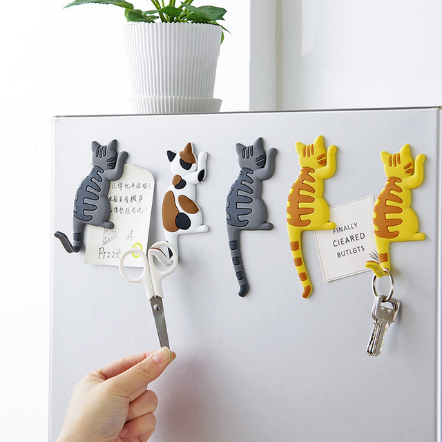 vanzlfe magnetic cartoon cat home the magnets on the babys fridge Magnet decorative souvenir magnets for refrigerators for hook 1