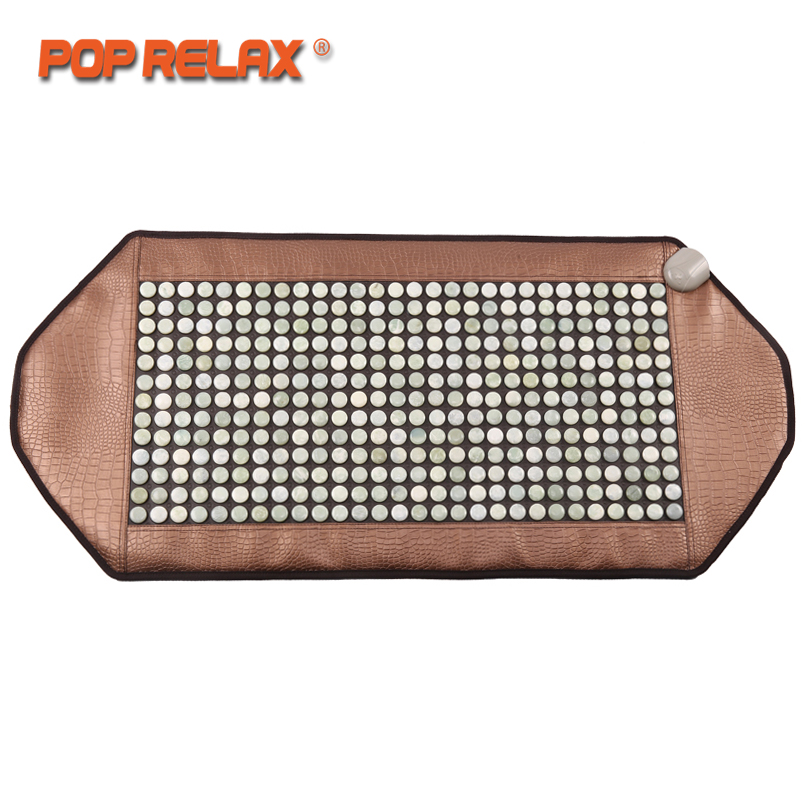 POP RELAX natural jade stone Korea health mattress body pain relief warm physiotherapy electric heating pad mat thermal mattress soft laser healthy natural product pain relief system home lasers