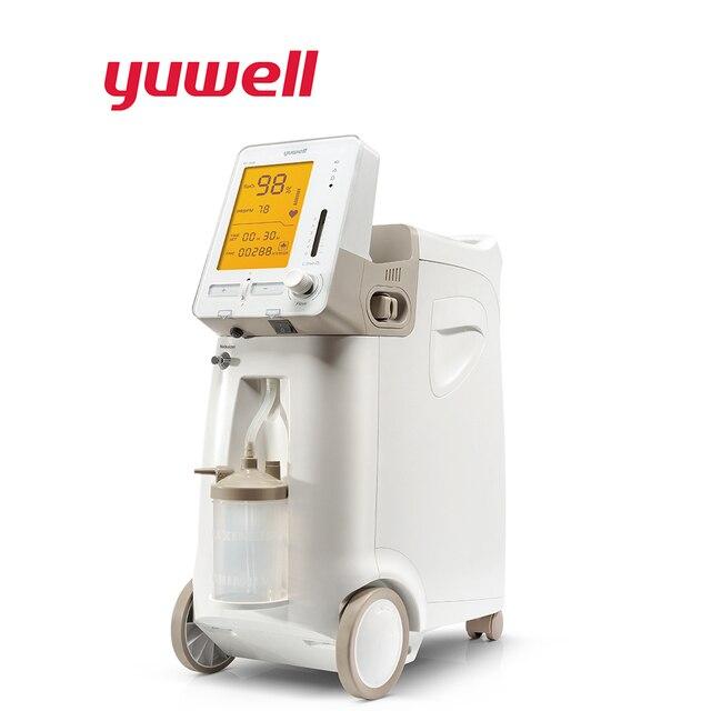 Yuwell 9F 3AW נייד חמצן רכז חמצן רפואי מחולל חמצן רפואי מכשיר בית חמצן מכונות ציוד רפואי