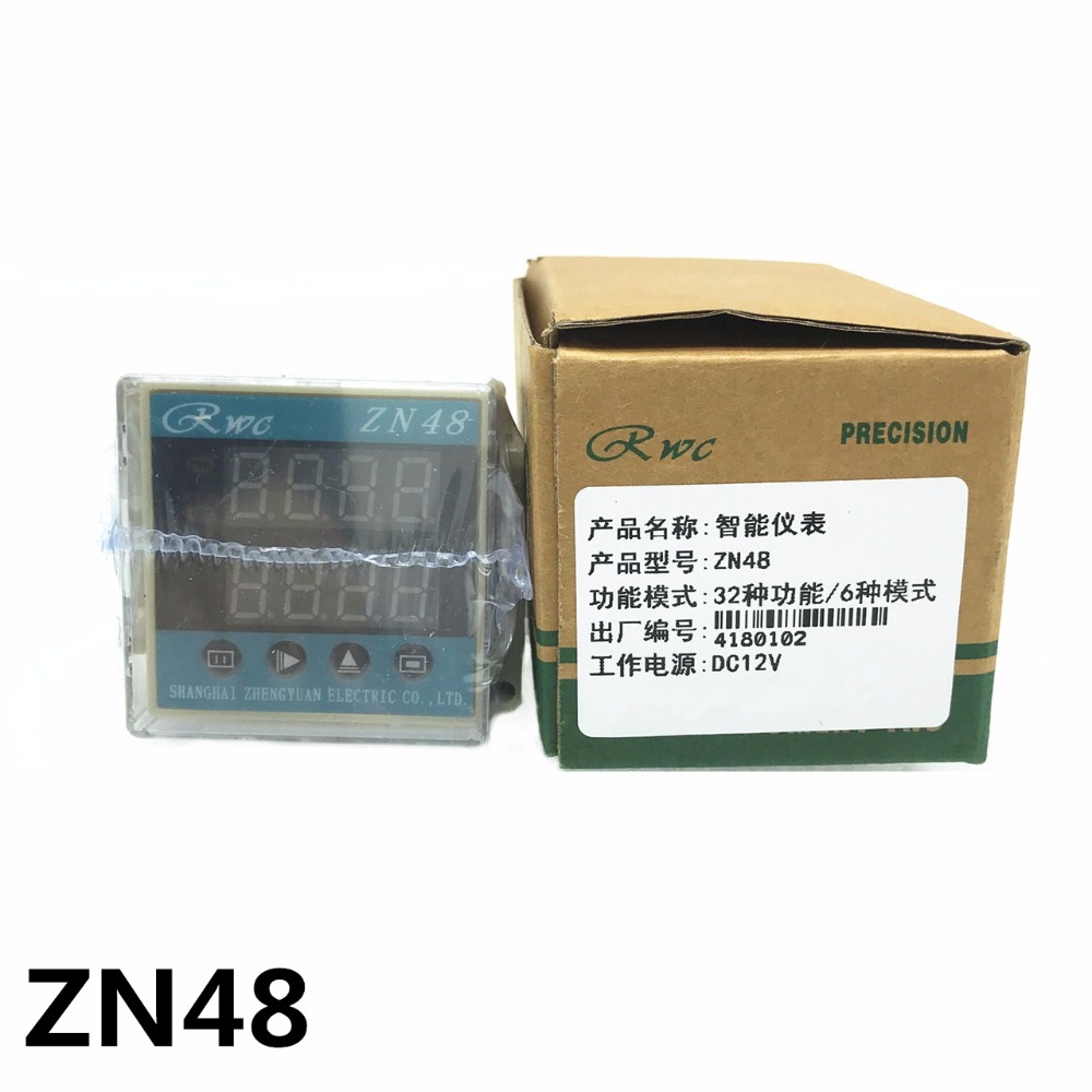 ZN48 Ditigal Time Relay Counter Multifunction Rotating speed frequency  DC12V DC24V AC22V AC380V Original binding High quality