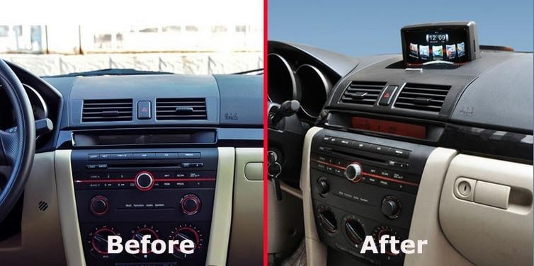 car stereo gps navigation for mazda3 mazda 3 2004 2009 auto radio multimedia headunit. Black Bedroom Furniture Sets. Home Design Ideas