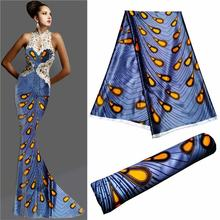 pure silk fabric african fabric lace ankara chic swimsuit fabric tissu satin dress sewing material high quality5yard/lot LLB-(China)