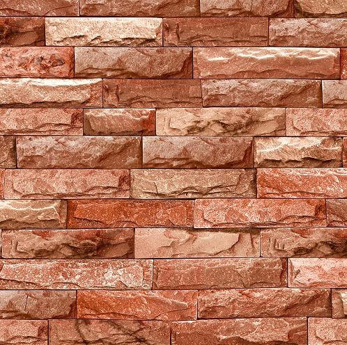 Chinese retro 3d stone bricks wallpaper 3d brick for Brick mural wallpaper