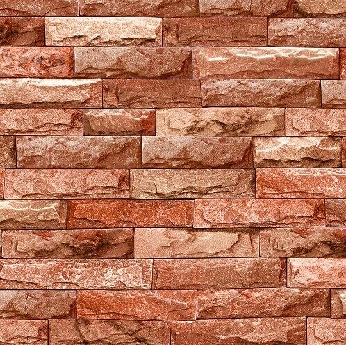 Chino retro 3d ladrillos de piedra papel pintado de for Papel tapiz de patron para el pasillo