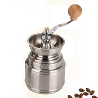 Manual Spice Coffee Grinder Stainless Steel Burr Ceramic Core Coffee maker