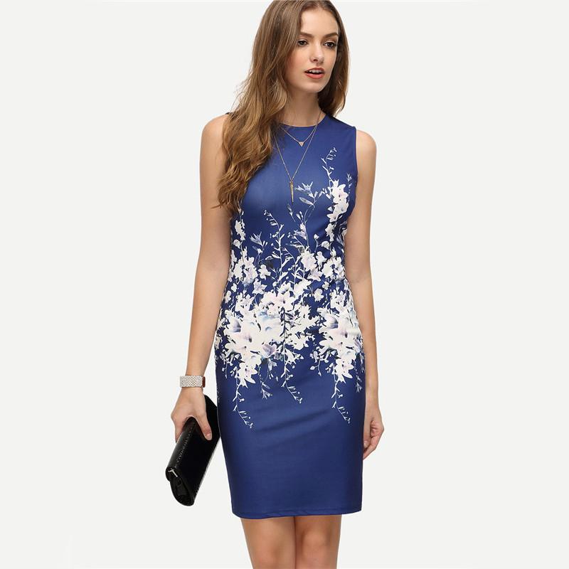 COLROVIE Velvet Sheath Dress Office Ladies Round Neck Slim Pencil Dress  Work Wear Knee Length DressUSD 16.65 piece 327318b74