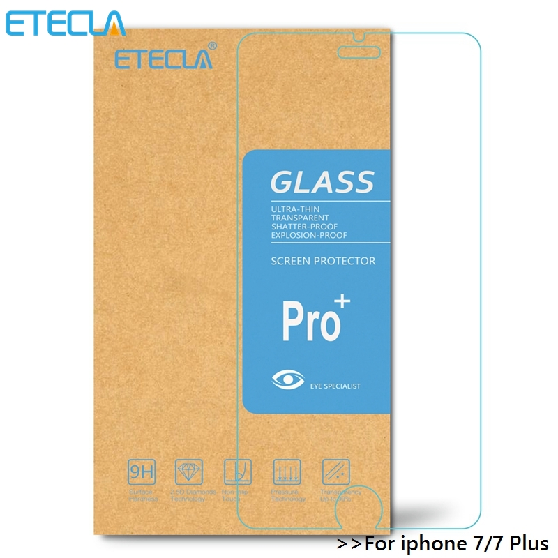 3Pcs For Iphone 7 Tempered Glass Iphone 7 Plus Glass For Iphone7 Ipone 7 I Phone7 Plus Screen Protector 9H 2.5D Glass Film