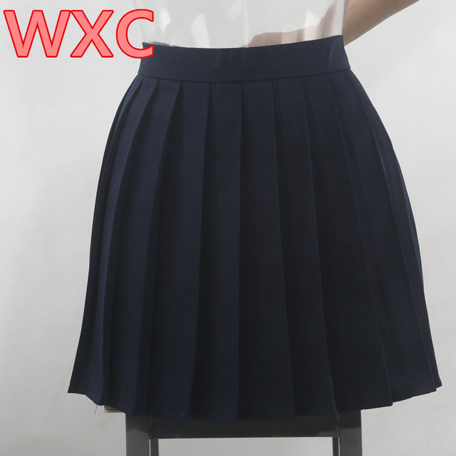 Online Shop Japanese High Waist Pleated Skirts Anime Cosplay School