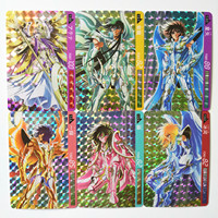 55pcs/set Saint Seiya Nordic to Pluto Toys Hobbies Hobby Collectibles Game Collection Anime Cards