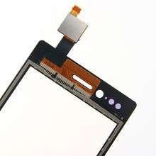 Free Shipping 10PCS/LOT Top Quality New Black Touch Screen Digitizer For Sony Ericsson Xperia Miro ST23 ST23i Touch Glass Panel