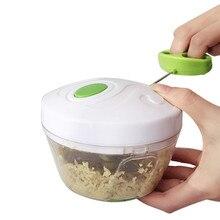 Кухня Тяговая еда измельчитель бытовой ручной Канатный процессор слайсер измельчитель салат производитель овощей инструменты