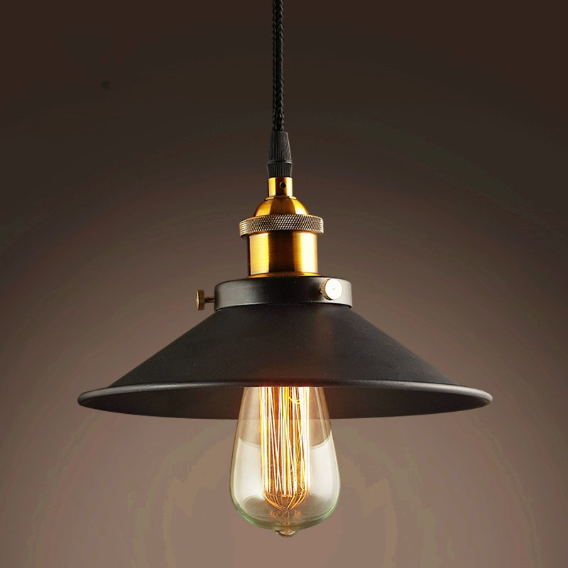 SINFULL Vintage black living room Pendant Lights bedroom loft Lighting Country Retro suspension Lamps iron E27 socket Fixtures retro country pendant lights loft vintage lamp restaurant bedroom dining room pendant lamps american style for living room