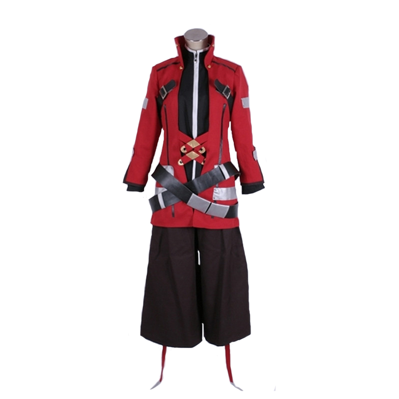 BlazBlue Alter Memory Ragna the Bloodedge Cosplay Carnaval Costume Halloween Christmas Costume with gloves
