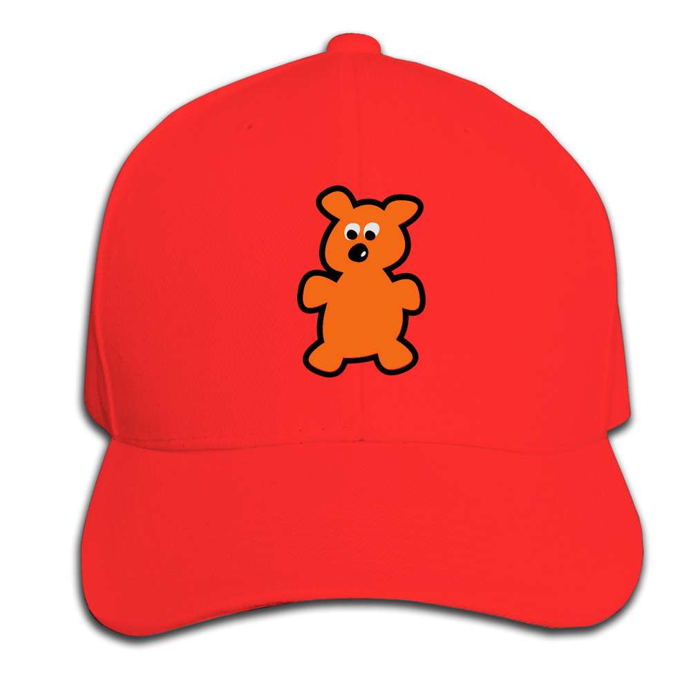 New Spring Summer Kids Fashion Caps Children Boys Girls Casual Cotton teddy  bear Baseball Caps Adjustable Hip Hop Snapback Sun 71a222ee015