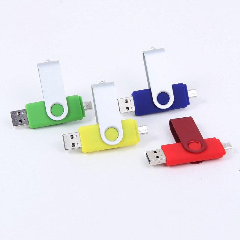 RETECK USB Flash Drive USB 2.0 Pen Drive Smartphone Pendrive Flash Memoria USB Stick OTG Micro USB Portable Storage Flash drive