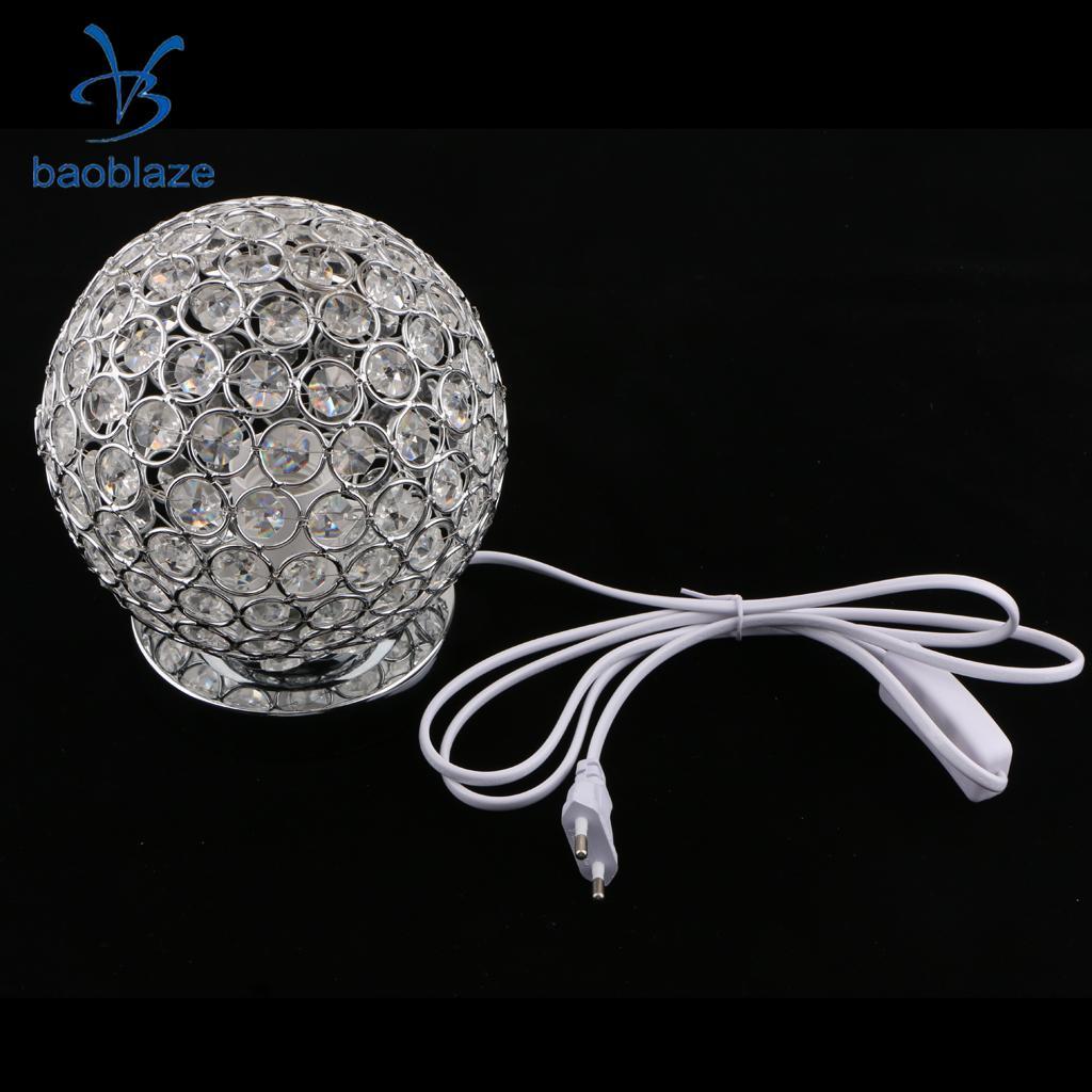 EU Plug Ball Table Lamp Table Lampshade Desk Lamp Shade