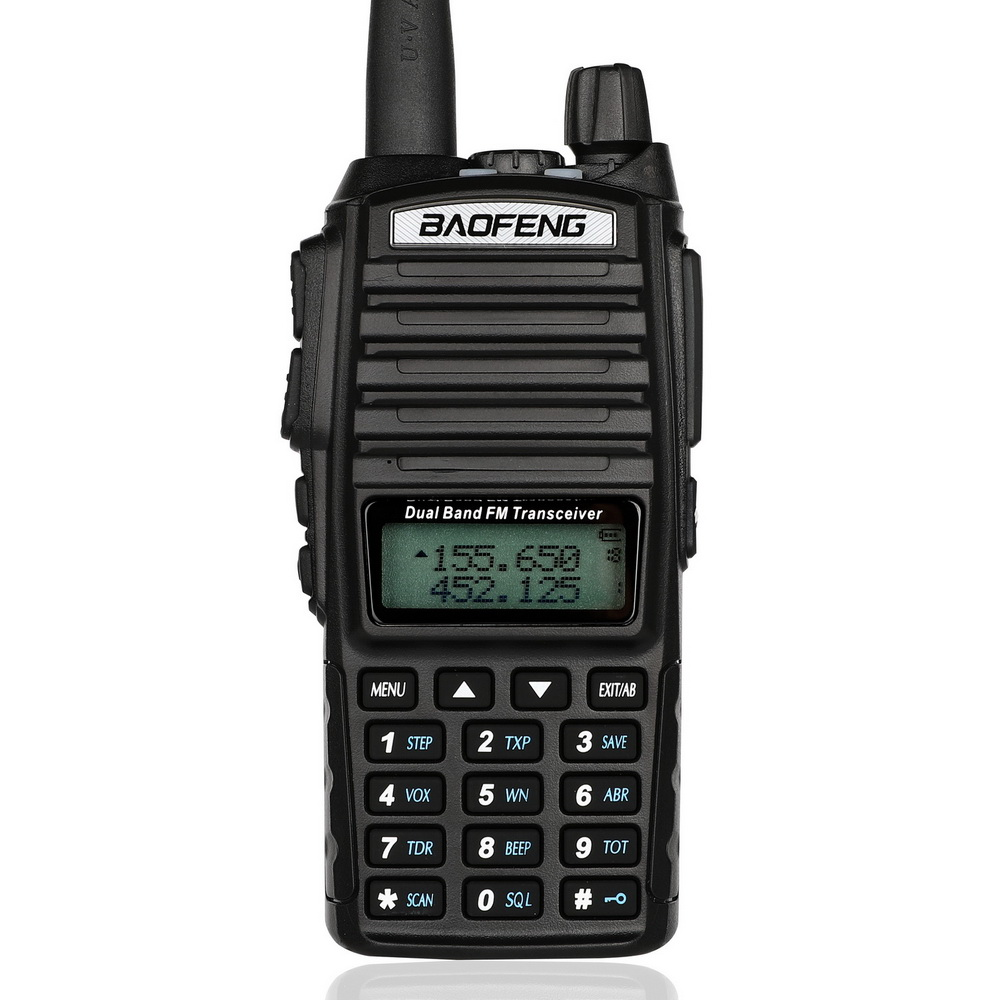 100PCS New Baofeng UV-82 V/U 136-174/400-520MHz FM Ham Two-way Radio Walkie Talkie+headset DHL/FEDEX