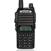 100PCS New Baofeng UV 82 V/U 136 174/400 520MHz FM Ham Two way Radio Walkie Talkie+headset DHL/FEDEX